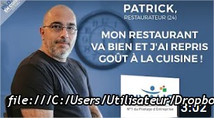 Patrick, restaurateur (24) - Pilotage en Cuisine